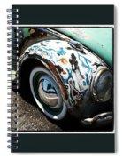 Vw Fender Art Spiral Notebook