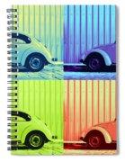 Vw Pop Summer Spiral Notebook