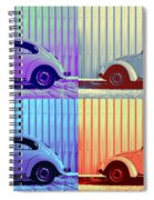 Vw Pop Winter Spiral Notebook