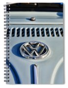 Vw Volkswagen Bug Beetle Spiral Notebook