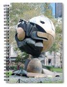 W T C Fountain Sphere Spiral Notebook