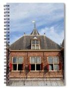 Waag In Amsterdam Spiral Notebook