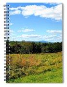 Wachusett Mountain From Tower Hill Spiral Notebook