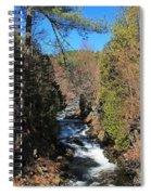 Wachusett Reservoir Spillway 2 Spiral Notebook