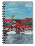 Waco Cabin Biplane Circa 1930 Spiral Notebook