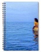Wading In Spiral Notebook