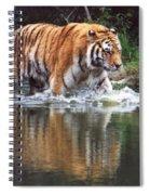Wading Tiger Spiral Notebook