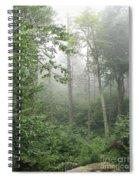 Waft Of Mist - Shenandoah Park Spiral Notebook