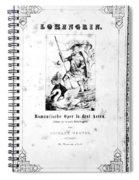 Wagner Lohengrin, 1850 Spiral Notebook
