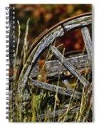 Wagon Down Spiral Notebook