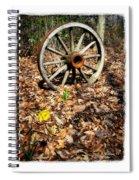 Wagon Wheel Daffodil Spiral Notebook