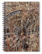 Wagon Wheel_7438 Spiral Notebook