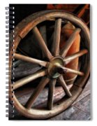 Wagon Wheels Spiral Notebook