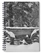Wagon Wheels June Lake Spiral Notebook