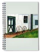 Wagon Wheels  Spiral Notebook