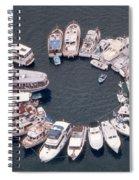 Wagonwheel Wedding Raftup Spiral Notebook
