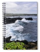 Waianapanapa Pailoa Bay Hana Maui Hawaii Spiral Notebook