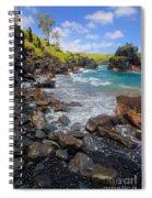 Waianapanapa Rocks Spiral Notebook