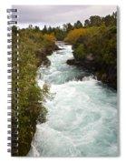 Waikato River Huka Falls Spiral Notebook