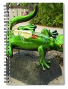 Waikiki Gecko Spiral Notebook