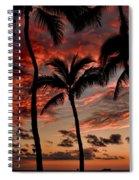 Waikiki Sunset Spiral Notebook