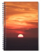 Waikiki Sunset No 2 Spiral Notebook