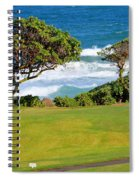 Wailua Golf Course - Hole 17 - 2 Spiral Notebook