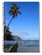 Waimanalo Beach  Spiral Notebook