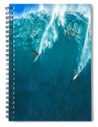 Waimea Bay Giant Spiral Notebook