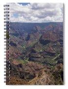 Waimea Canyon 5 - Kauai Hawaii Spiral Notebook