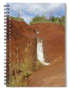 Waimea Waterfall Spiral Notebook