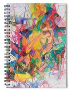 Waiting According To Intuition 1 Spiral Notebook