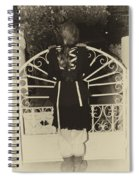 Waiting At The Gate Spiral Notebook