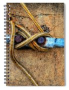 Waiting - Boat Tie Cleat By Sharon Cummings Spiral Notebook