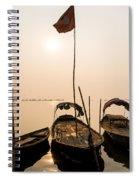 Waiting Boats Spiral Notebook