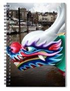 Waiting Dragon Spiral Notebook