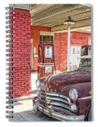 Waiting For Gas Spiral Notebook