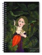 Waiting For Secret Lover Spiral Notebook