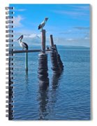 Waiting For Sunset Spiral Notebook