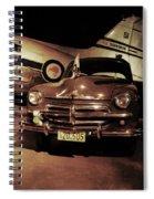 Waiting For The Ambassador  Spiral Notebook