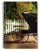 Waiting For The Mare Spiral Notebook