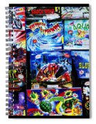 Waiting For The Next Explosion Spiral Notebook