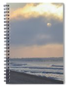 Waiting For The Sun Spiral Notebook