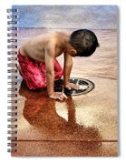 Waiting For Water Spiral Notebook