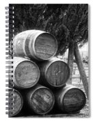 Waiting For Wine Season Spiral Notebook