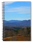 Waiting For Winter In The Blue Ridge Mountains Spiral Notebook