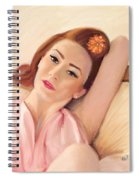 Waiting Glamour Spiral Notebook