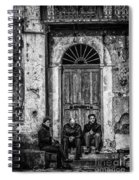 Waiting In Ravello Spiral Notebook