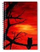 Waiting On Sundown Spiral Notebook