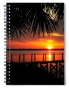 Waiting On The Sun Spiral Notebook
